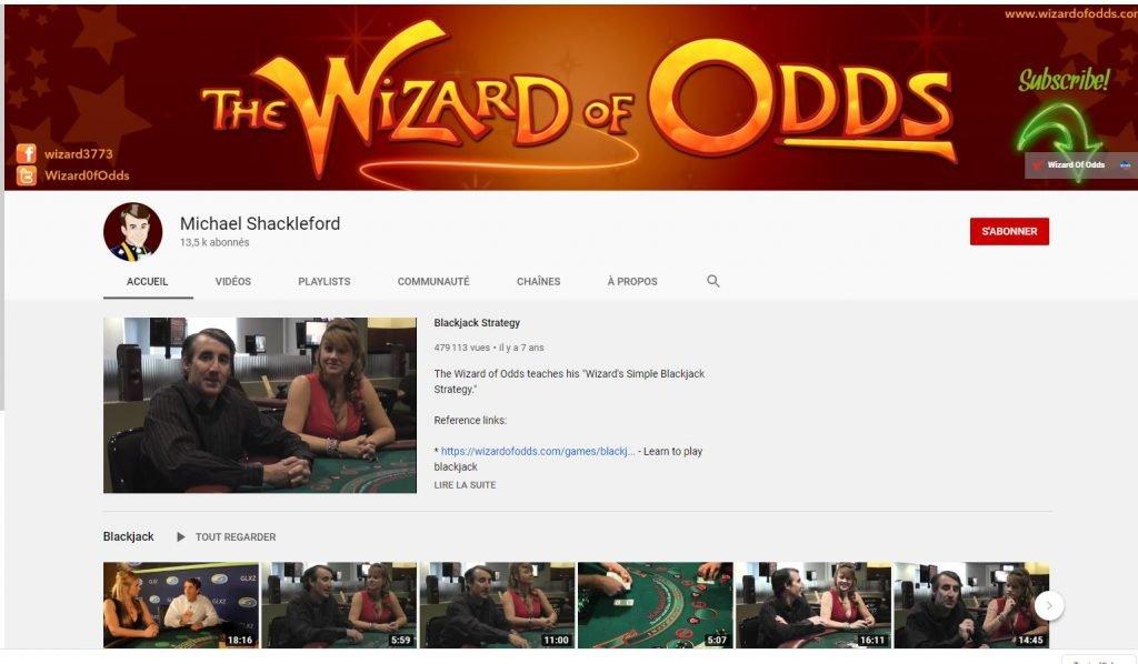 Chaîne YouTube de Michael Shackleford
